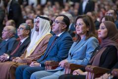 رئيس الوزراء المصري ومحمد القرقاوي ود. هالة السعيد وعهود الرومي يحضرون جائزة مصر للتميز الحكومي